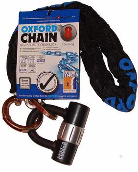 Oxford Chain 8 Chain Lock and Mini Shackle