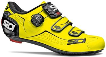 Sidi Alba bike shoes yellow fluo