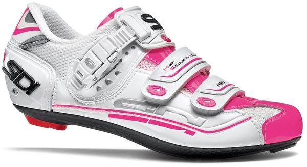 Sidi Genius 7 Damen (weiß/neon-pink)