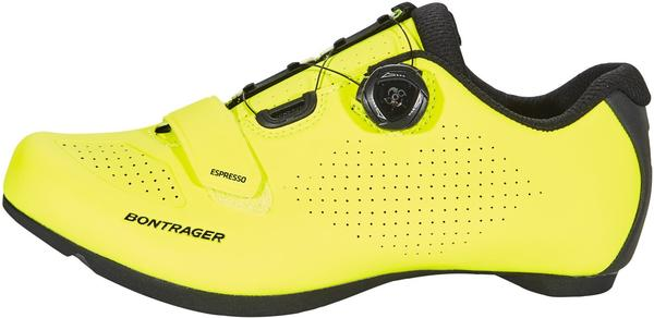 Bontrager Espresso Road Shoes (fluo yellow)