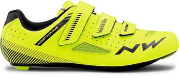 Northwave Core Road Shoes (neon yellow/black)