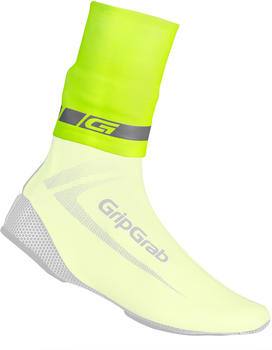 GripGrap CyclinGaiter Hi-Vis Rainy Weather Ankle Cuff fluo yellow