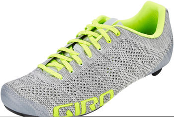 Giro Empire E70 Knit Shoes grey heather/highlight yellow