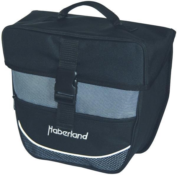 Haberland Einzeltasche (130006) (schwarz/silber)