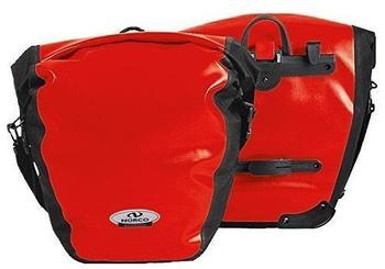 Norco Arkansas Hinterradtasche (rot/schwarz)