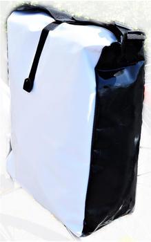 Filmer Gepäckträgertasche aus Tarpaulin rot