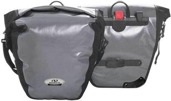 Norco Arkansas Hinterradtasche (grau/schwarz)