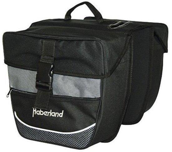Haberland Doppeltasche Einsteiger (schwarz/silber)