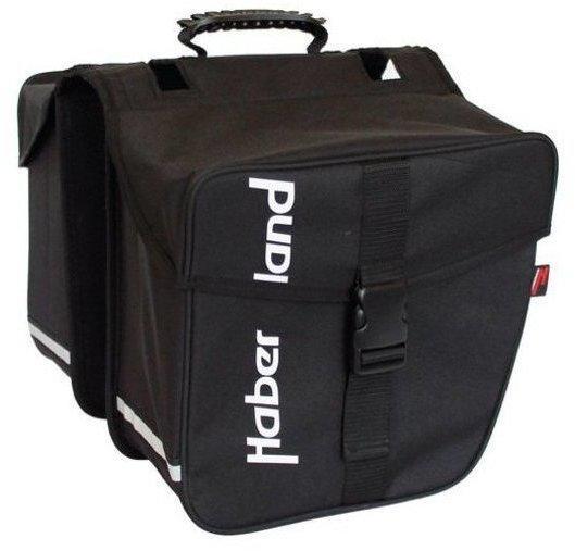 Haberland Doppeltasche Basic M (schwarz)