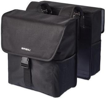 Basil Go Doppeltasche (schwarz)