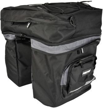 fischer Gepäckträgertasche 1-fach schwarz