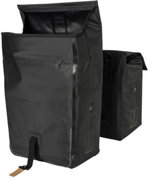 Basil Urban Dry Double Bag (schwarz)