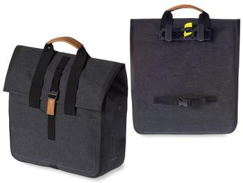 Basil Urban Dry Shopper (charcoal melee)