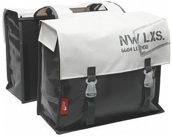 new-looxs-bisonyl-basic-double-bike-bag-46-l-grey