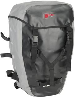 Fox Gepäckträgertasche schwarz/grau (64144)