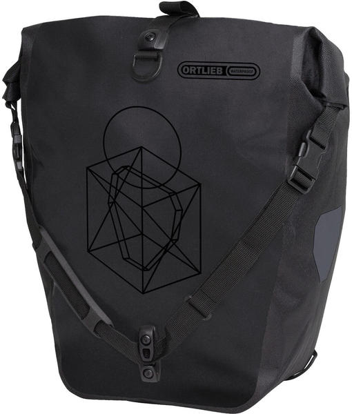Ortlieb Back-Roller Design Symmetry - Black Matt