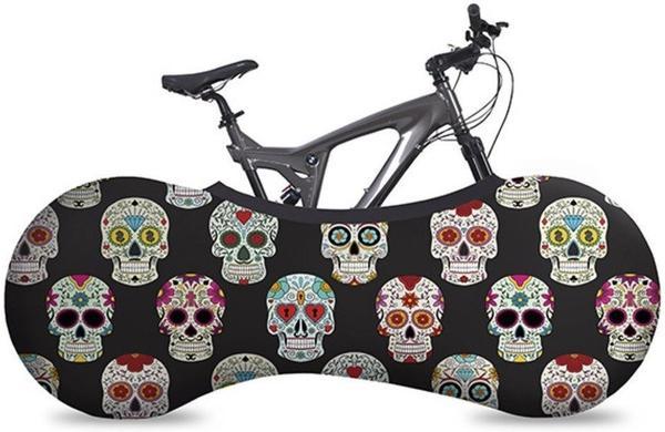 Velo Sock Bike Cover Skulls
