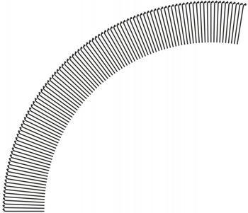 DT Swiss Competition® 2.0 / 1.8 Speichen (100 St.) schwarz 282 mm