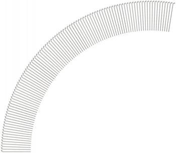 DT Swiss Competition® 2.0 / 1.8 Speichen (100 St.) silber 282 mm