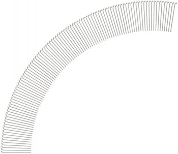 DT Swiss Competition® 2.0 / 1.8 Speichen (100 St.) silber 258 mm