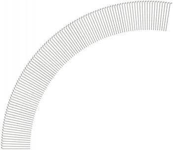 DT Swiss Competition® 2.0 / 1.8 Speichen (100 St.) silber 256 mm