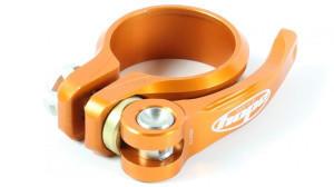 Hope Sattelklemme mit Schnellspanner orange 38,5 mm