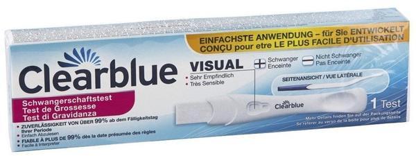 Clearblue Schwangerschaftstest mit Anwendungskontrolle