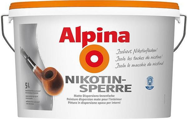 Alpina Nikotinsperre 5 L Test Jetzt Ab 37 38 September 2020 Testbericht De