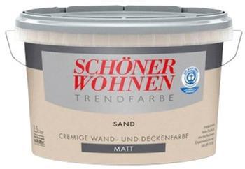 Schöner Wohnen Trendfarbe matt 2,5 l Sand