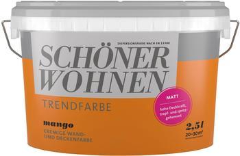 Schöner Wohnen Trendfarbe seidenglänzend 2,5 l Honey Test ...