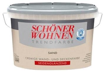 Schöner Wohnen Trendfarbe seidenglänzend 2,5 l Sand