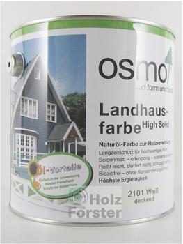 Osmo Landhausfarbe 2,5 l fichten-gelb