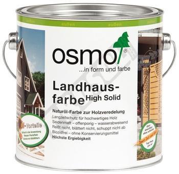 Osmo Landhausfarbe 2,5 l dunkelbraun