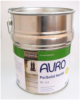 Auro PurSolid Hartöl 10 Liter (Nr. 123)