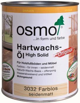 Osmo Hartwachs-Öl Original 2,5 l farblos seidenmatt