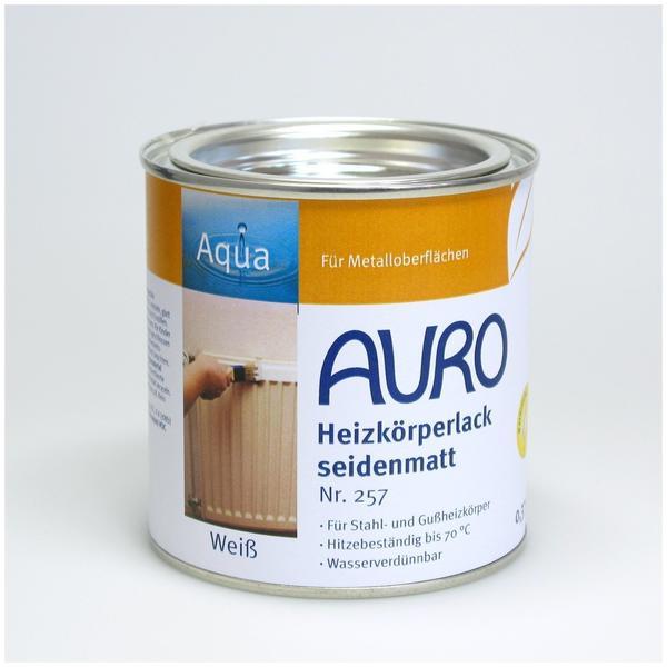 Auro Heizkörperlack seidenmatt 0,375 Liter (Nr. 257)