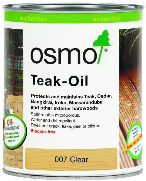 Osmo Teak-Öl farblos klar 0,75 Liter (007)