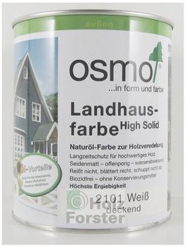 Osmo Landhausfarbe 0,75 l lichtgrau