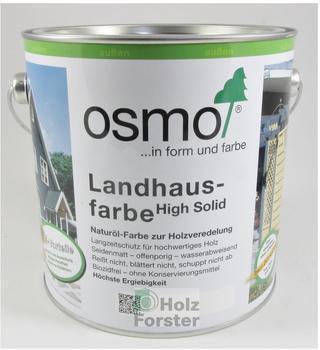 Osmo Landhausfarbe 2,5 l anthrazitgrau