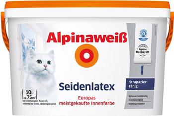 Alpina Alpinaweiß Seidenlatex 10 l