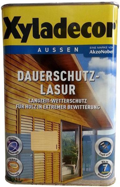 Xyladecor Dauerschutz-Lasur 4 l Eiche hell