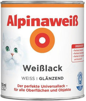 Alpina Alpinaweiß Weißlack 750 ml seidenmatt