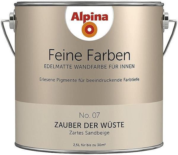 Alpina Feine Farben No 17 Farbe Der Könige: Alpina Zauber Der Wüste 2,5 L Test