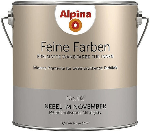 Alpina Nebel im November 2,5 l