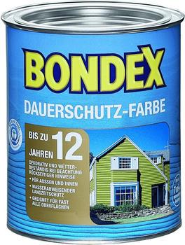 Bondex Dauerschutz-Farbe Schneeweiß 0,75 l