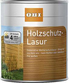 OBI Holzschutzlasur (verschiedene Farben) 750 ml