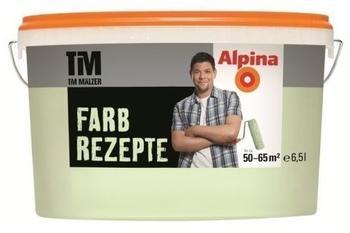 Alpina Farbrezepte Wandfarben Grüner Tee 6,5 Liter