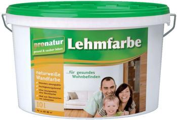 Baufan pronatur Lehmfarbe naturweiß 10 l