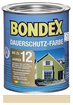 Bondex Dauerschutz-Farbe 0,75 l Champagner
