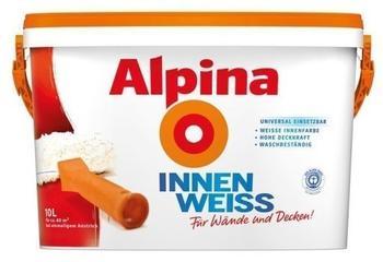 Alpina InnenWeiss 10 L, matt